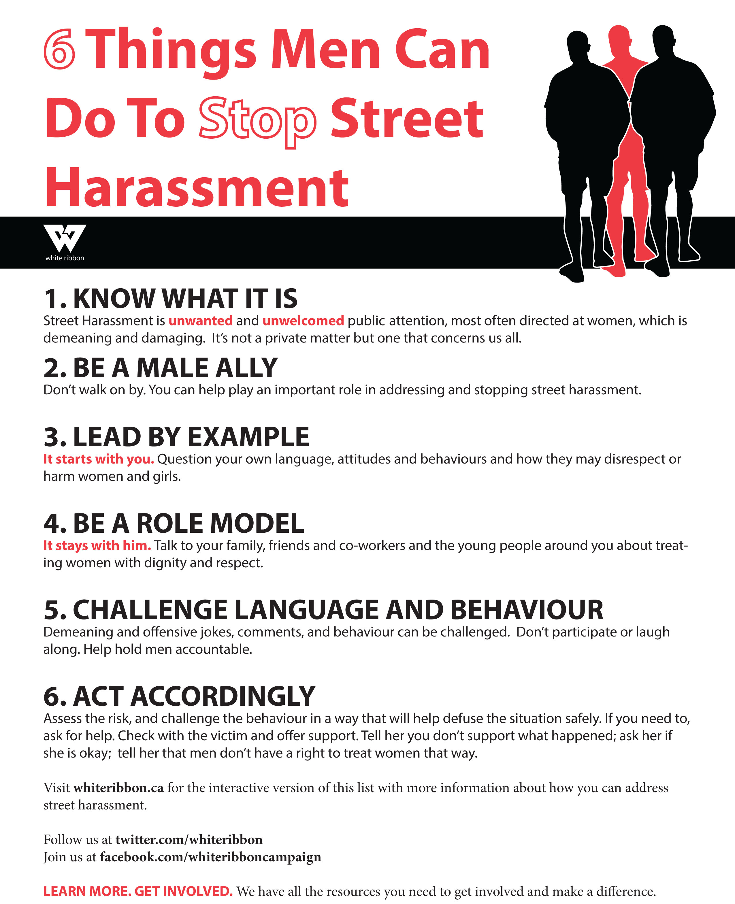 harassment of women The survey found that 65% of all women had experienced street harassment  among all women, 23% had been sexually touched, 20% had been followed,  and.
